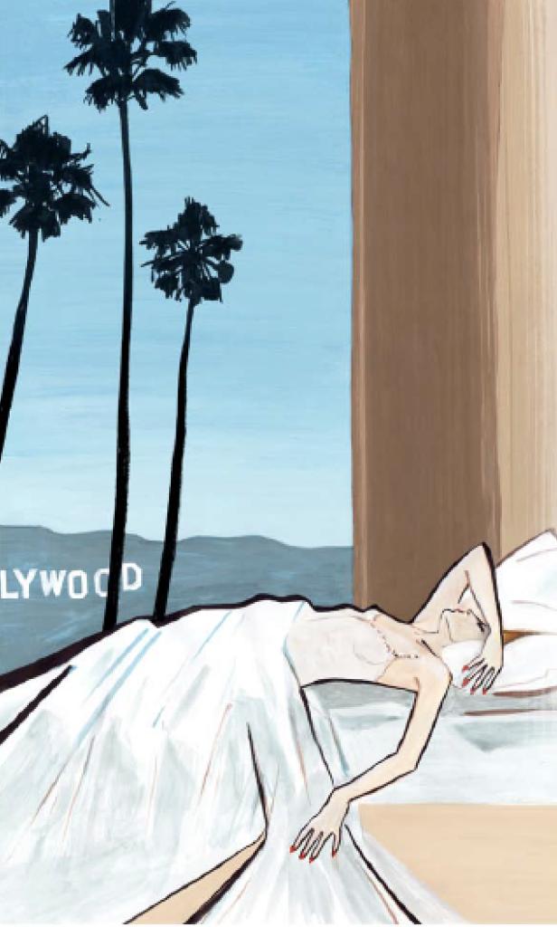 Illustration Hollywood aus Tante Karos Gefühl für Stil