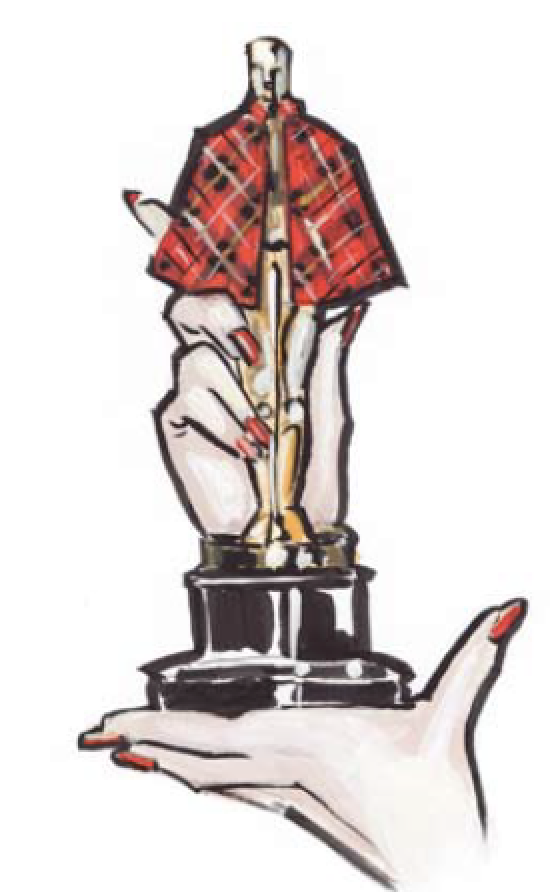 Illustration Oscar aus Tante Karos Gefühl für Stil